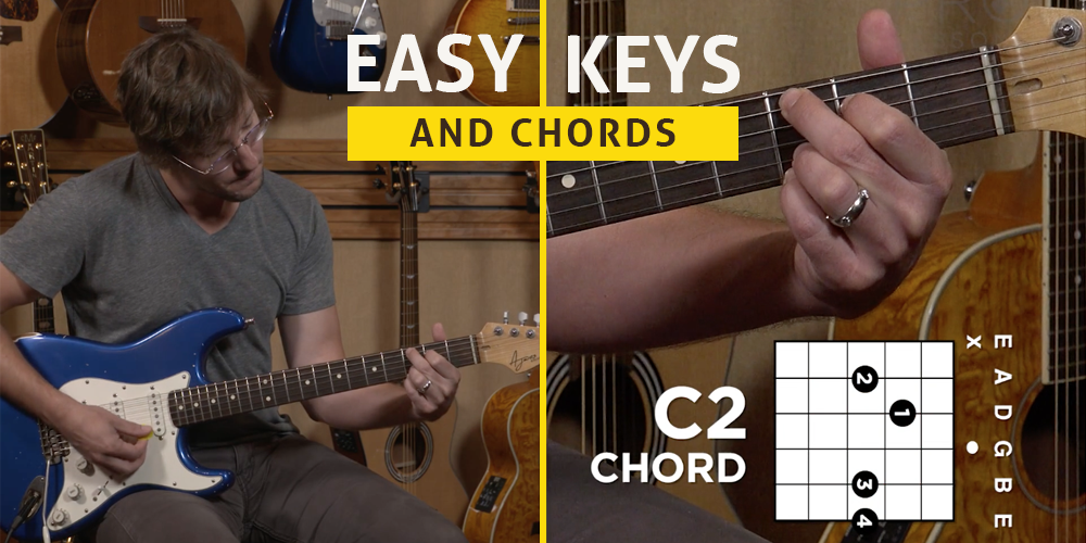 Guitar Chords Easy Keys And Chords For Beginners