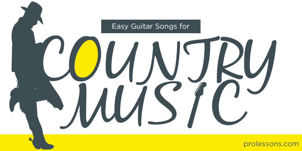 Easy Guitar Songs for Country Music